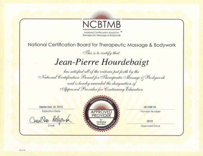 Massage Awareness Ncbtmb Approved