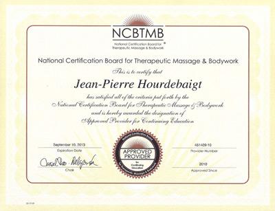 Massage Awareness - NCBTMB Approved
